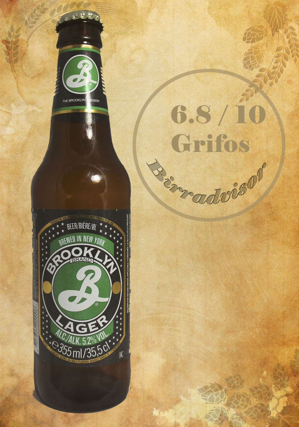 Brooklyn brand lager