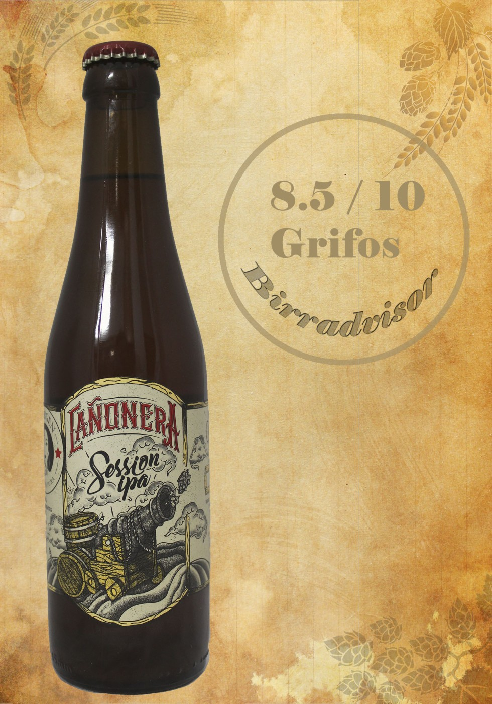 Cerveza la virgen (cañonera)