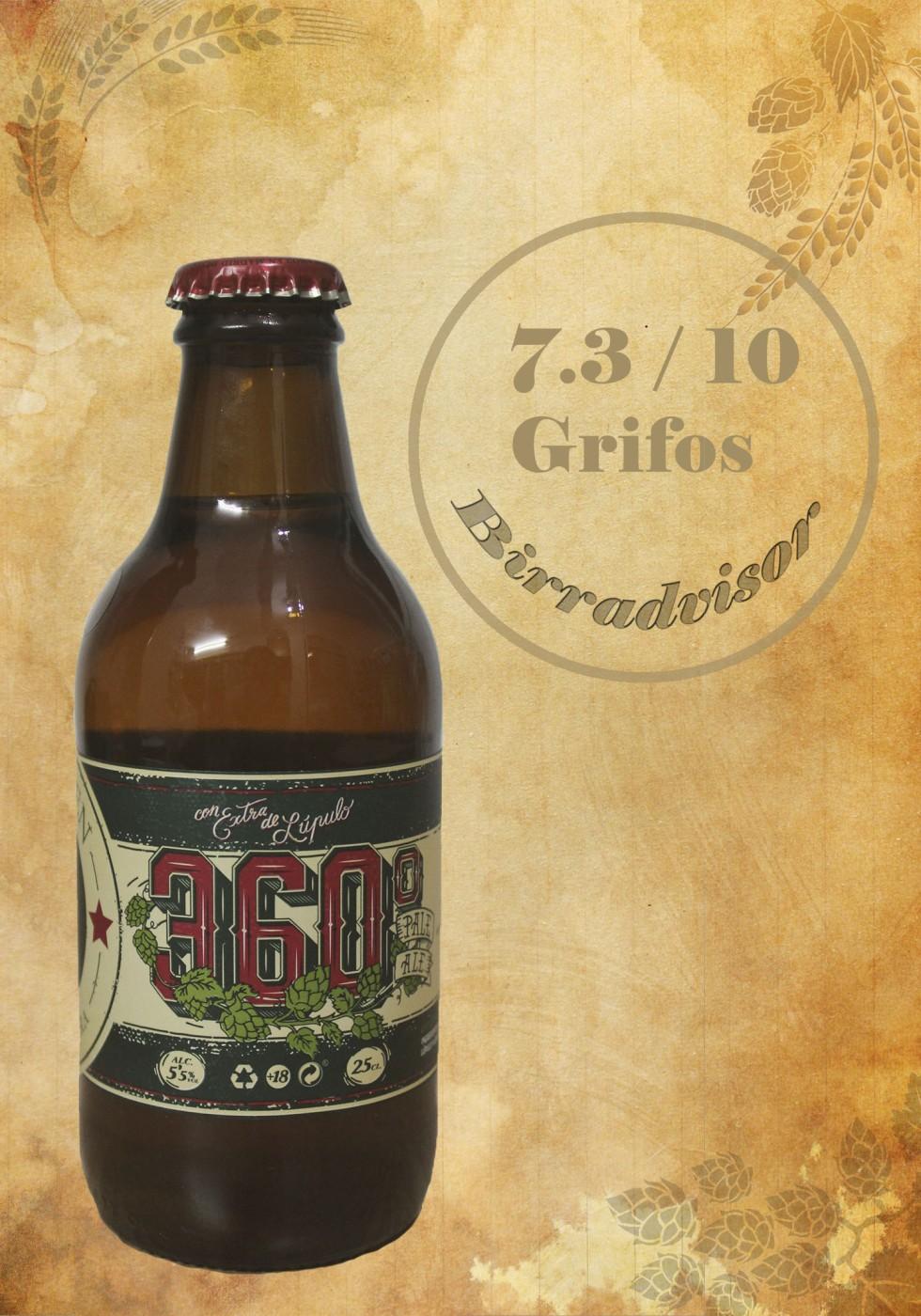 Cerveza la virgen (Pale Ale 360)